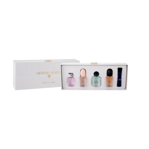 GIORGIO ARMANI 5 PCS SET MINI SET FOR WOMEN
