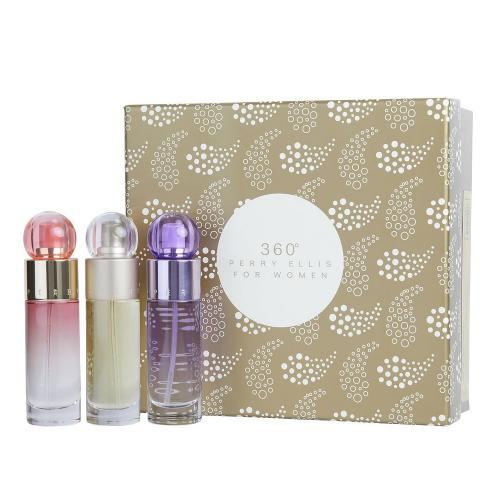 PERRY ELLIS 3 PCS SET FOR WOMEN >  3 X 1 OZ SP