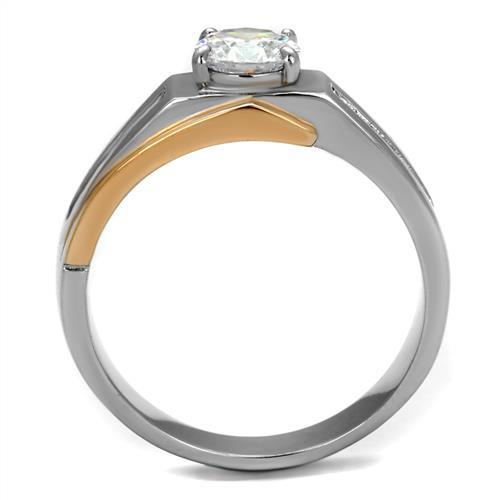 Two-Tone IP Rose Gold