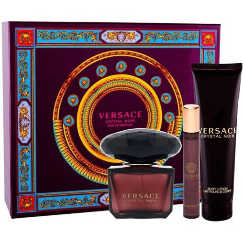 VERSACE CRYSTAL NOIR 3 PCS SET >  3 OZ EDP SP